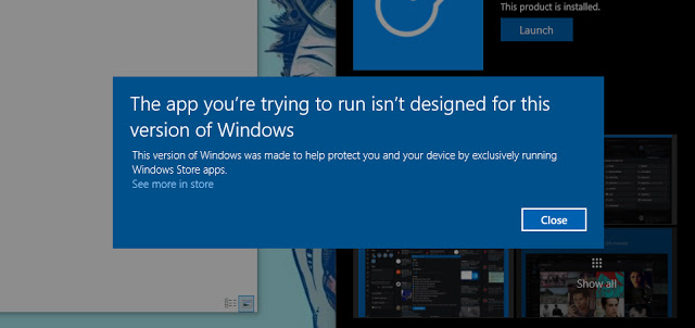 Windows 10 Cloud users might be able to upgrade to a different SKU