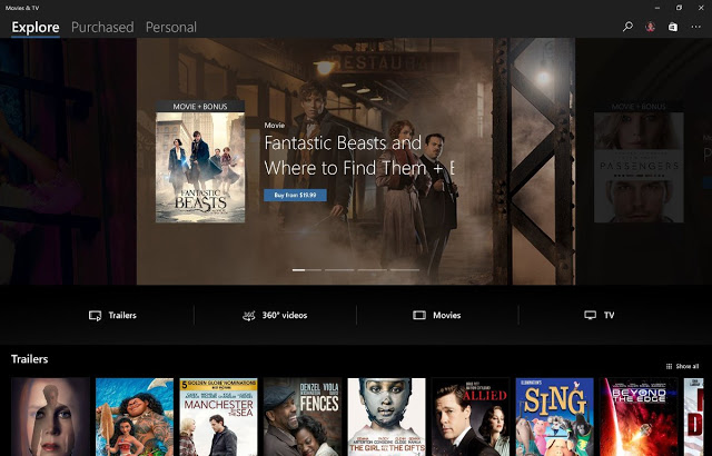 Movies and TV (Films and TV) gets an overhauled UI in a new Update for Windows 10