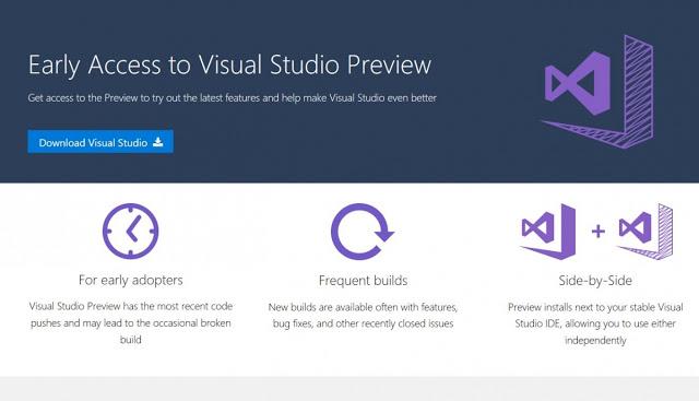 Visual Studio Preview Program