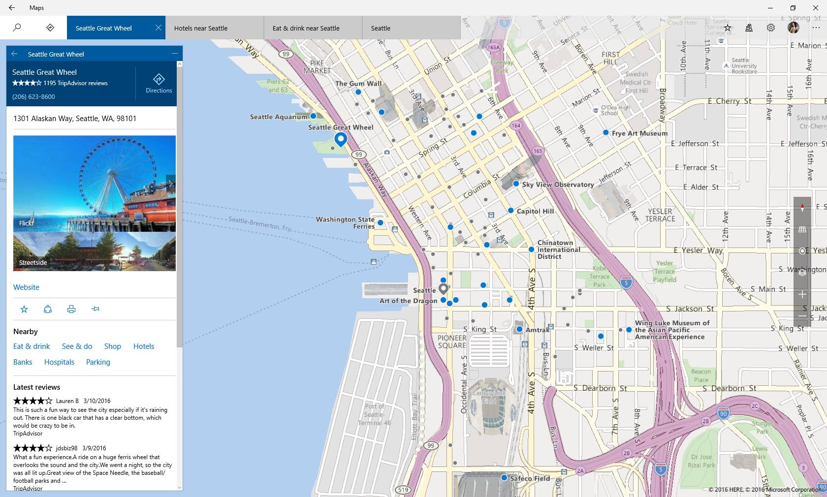 Windows Maps
