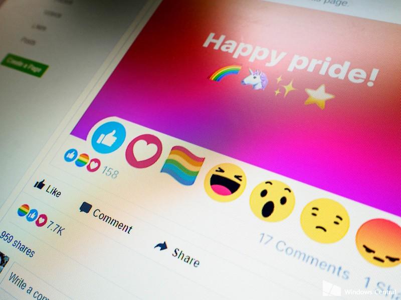 PrideFlag Reaction