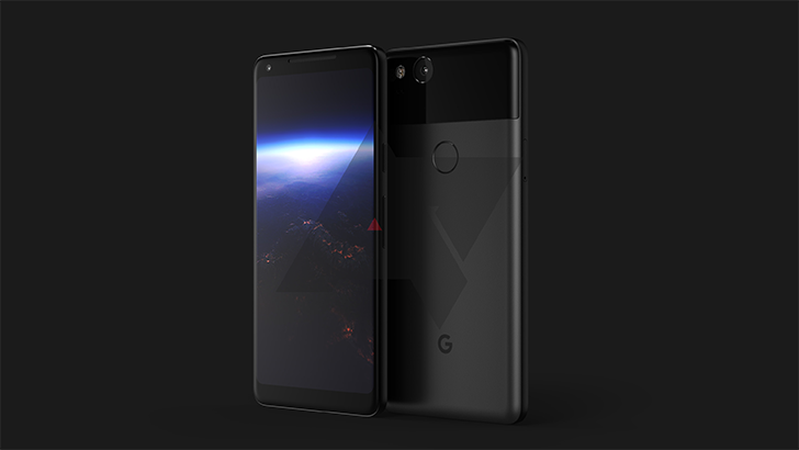 This might be the upcoming Google Pixel 2 XL