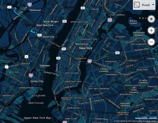 Bing-Maps-Control