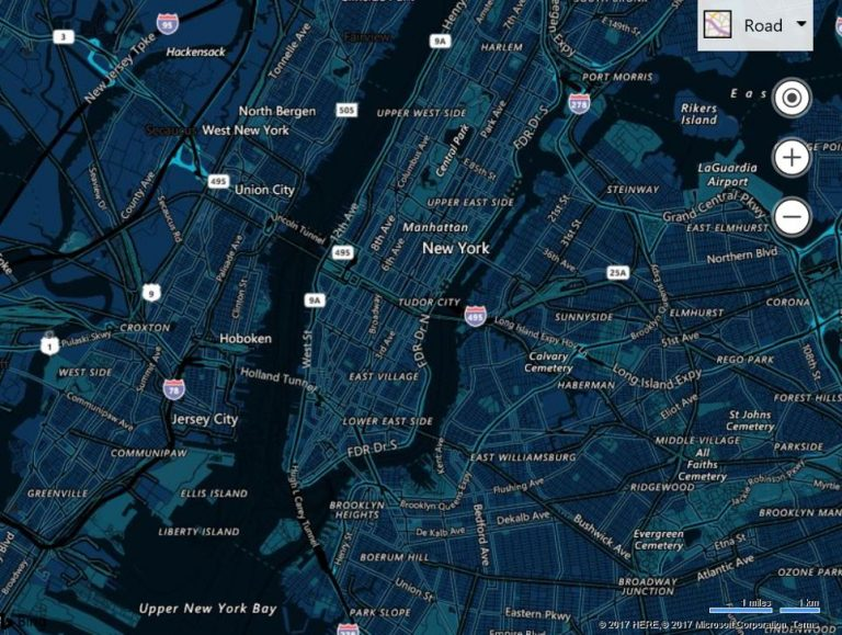 Bing Maps V8 Summer Update relesed