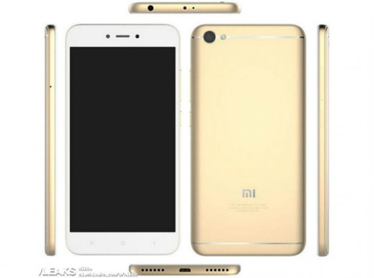 Leak : Xiaomi Redmi Note 5A Images and Specifications!