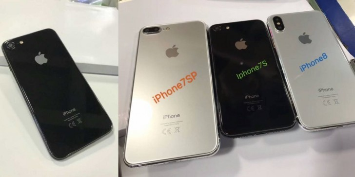 Upcoming iPhone family pictured in a leak!