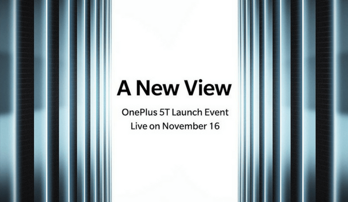 OnePlus 5T set to launch on 16th November