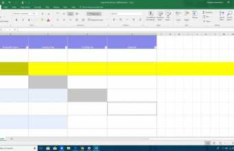 Excel deselect feature