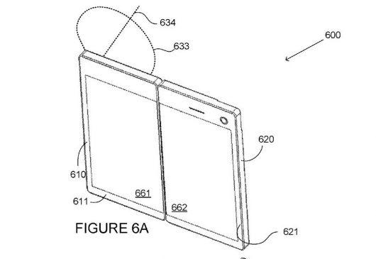 Microsoft foldable device