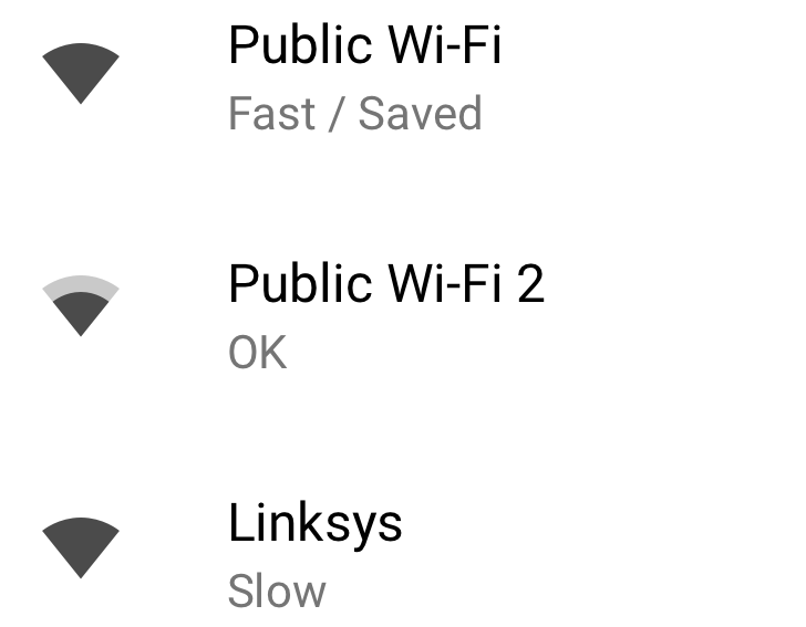 Google - Fast or Slow Wifi Network