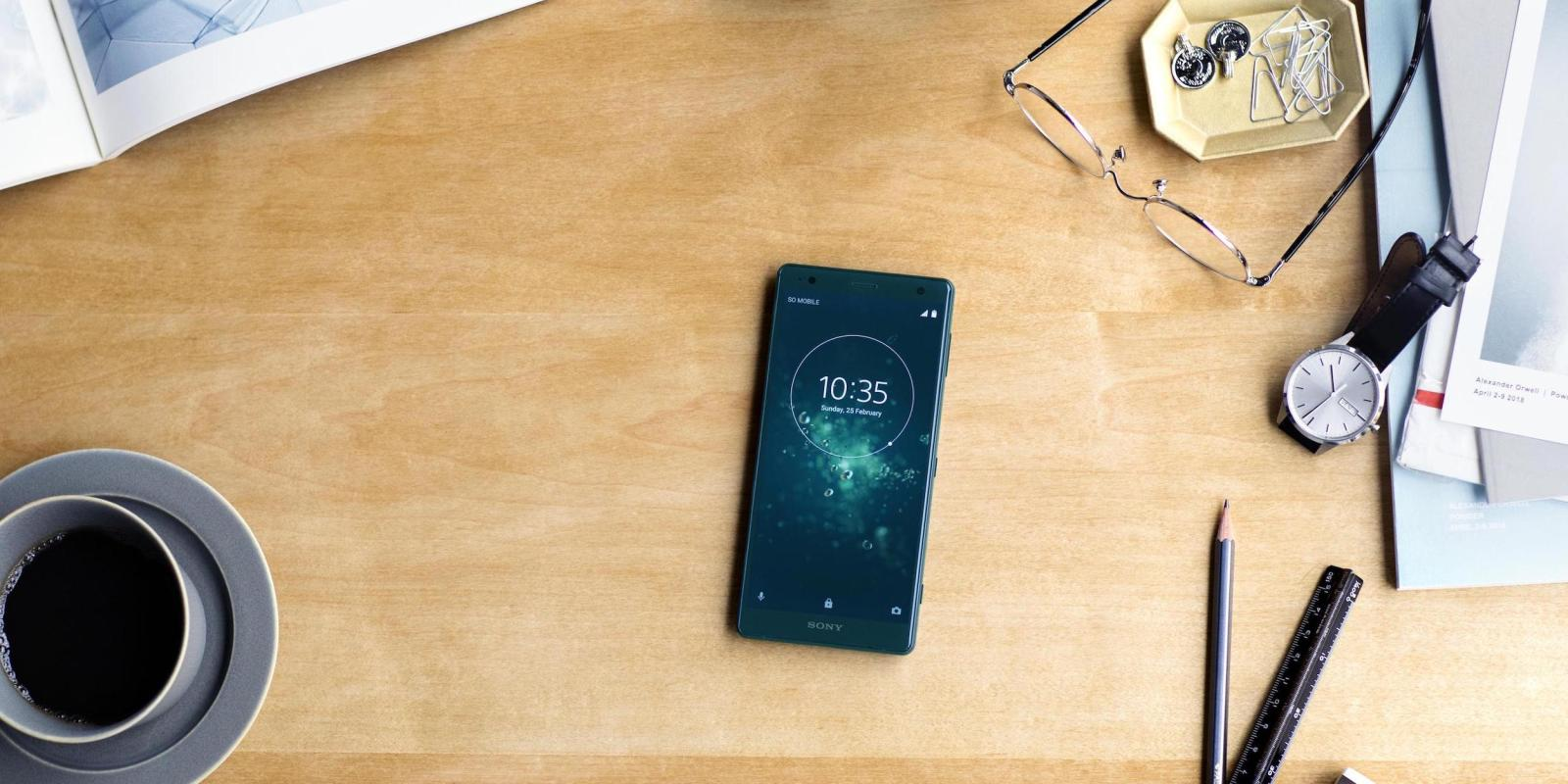 Sony Xperia XZ2 and Xperia XZ2 Compact front