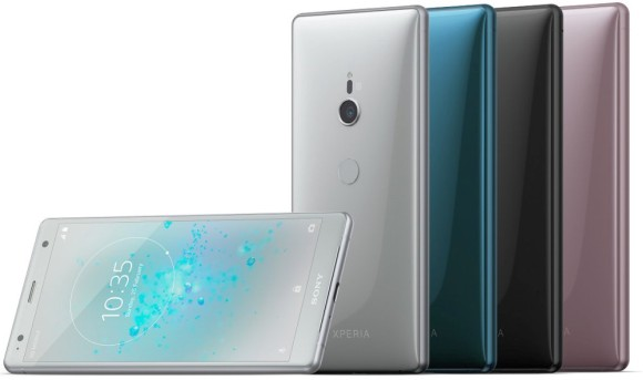 Sony Xperia XZ2 and Xperia XZ2