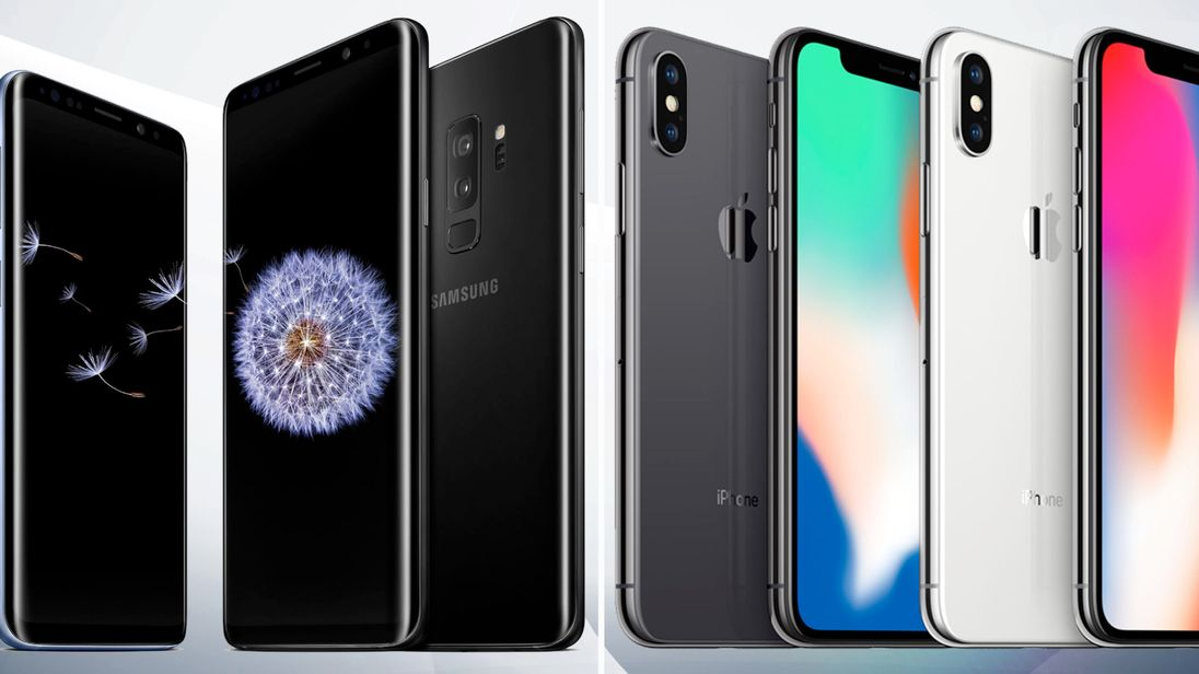 Samsung Galaxy S9 vs iPhone X 5