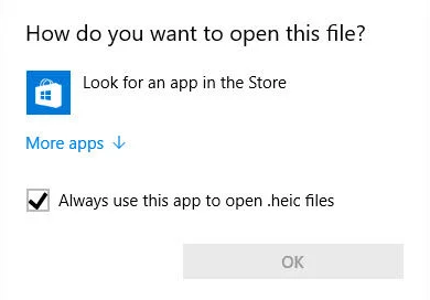 open HEIC files