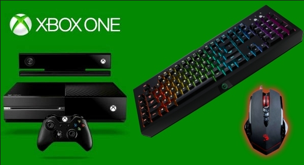 How to use mouse and keyboard apart from controller on Xbox One