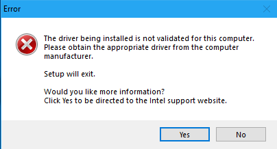 Fix Driver Being Installed