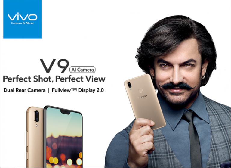 Vivo V9 is launched in India with 24MP selfie camera at 19:9 display