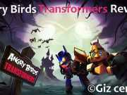 Angry Birds transformers Review